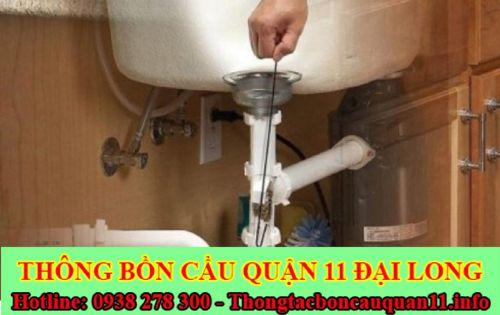 Công ty thông bồn rửa mặt Đại Long Chất lượng