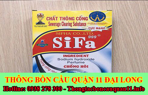 Bán bột thông cống nghẹt miễn phí giao hàng 0938278300