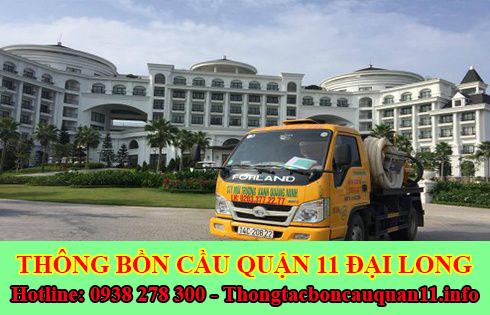 Số điện thoại hút hầm cầu Đại Long giá rẻ 200k gọi 0938278300