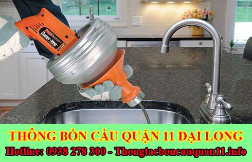 Thợ sửa bồn rửa chén bát Quận 11 tại nhà giá rẻ 0938278300