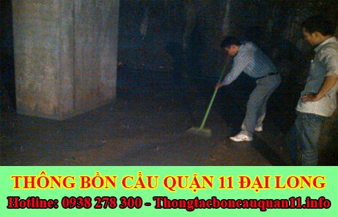 Bảng giá vệ sinh bể chứa nước ngầm Quận 11 giá rẻ 0903737957